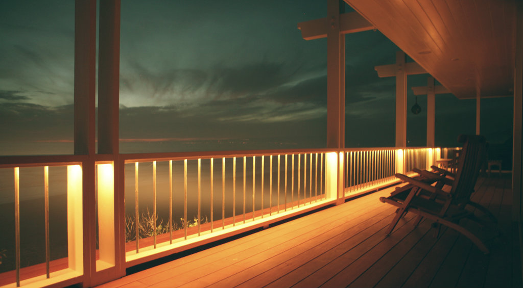 how to install solar lights on a deck diyit